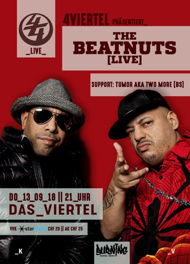 FLYER A6 Beatnuts